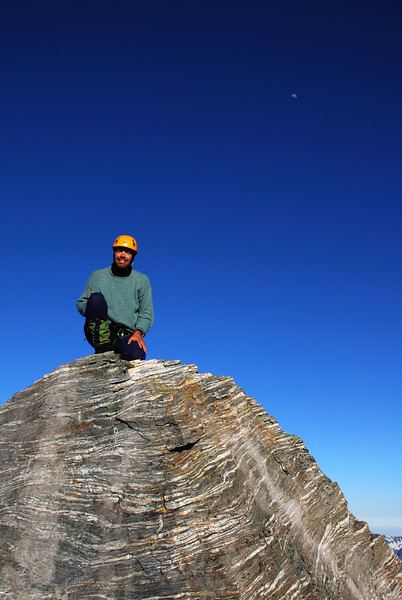 Danilo on the summit of Mt Ionia