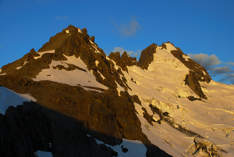 Evening light on Mt Ionia