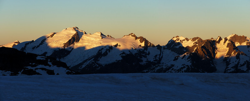 Sunrise on the Olivine Range.