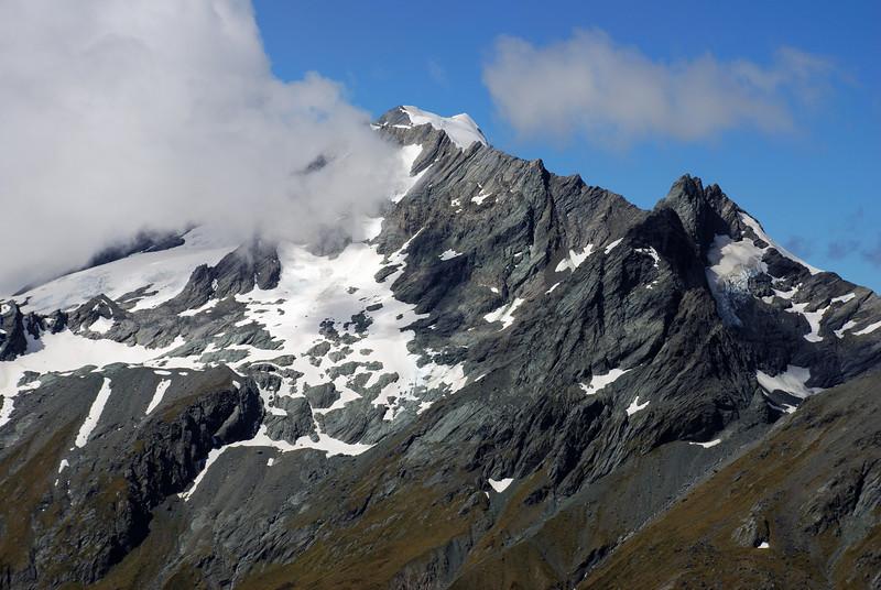 Rob Roy Peak and Glengyle Peak from the Pylon above Cascade Saddle