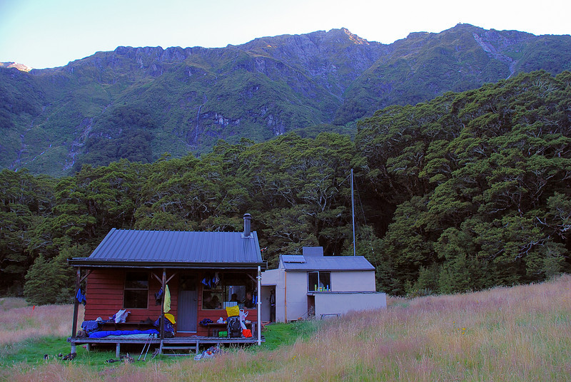 Top Forks Hut, Wilkin River