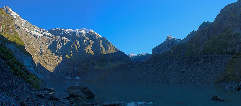 Lucidus Lake and Mount Castor. HDR Panorama