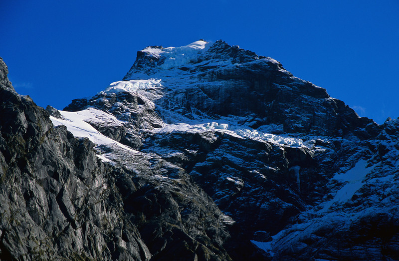 The east face of Mount Alba