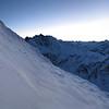 Dawn light on Taiaha Peak