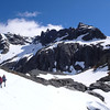 Mt Heim from below the campsite