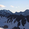 Mt Huxley from Mt Heim