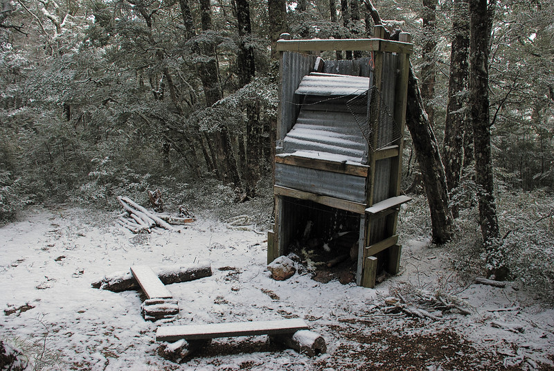 Bob's Camp Biv - the fire place
