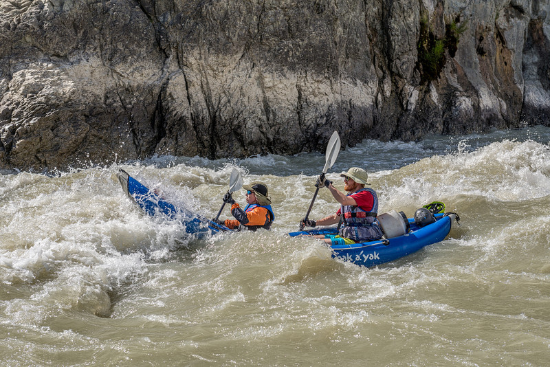 One of the many unnamed rapids on the river...