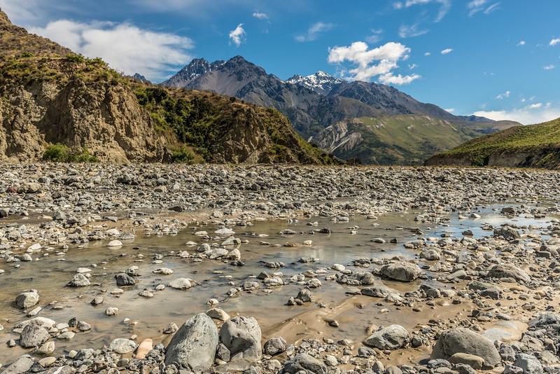 Mitre Peak, Mount Alarm and Tapuae-O-Uenuku