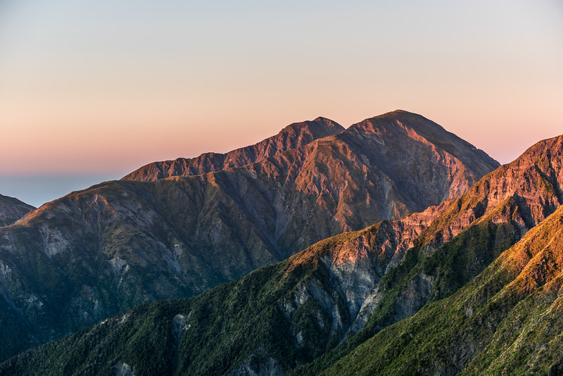 Gable and Gables End at sunrise from Surveyor Spur
