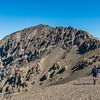 On the east ridge of Manakau