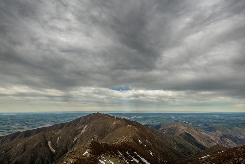 Little Mount Peel / Huatekerekere from Middle Mount Peel
