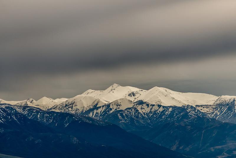Mount Hutt from Little Mount Peel / Huatekerekere