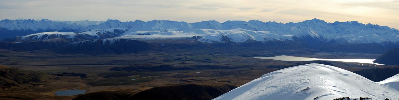 Looking west from peak 1755m