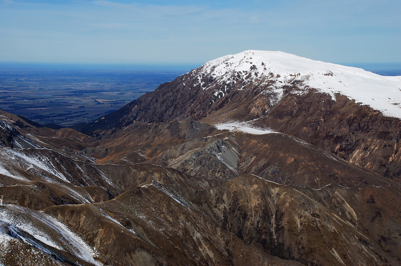Mount Somers from Knob 1700m
