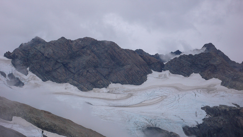 Mt Sealy and the Metellile Glacier