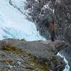 Michelle and TeWaeWae Glacier