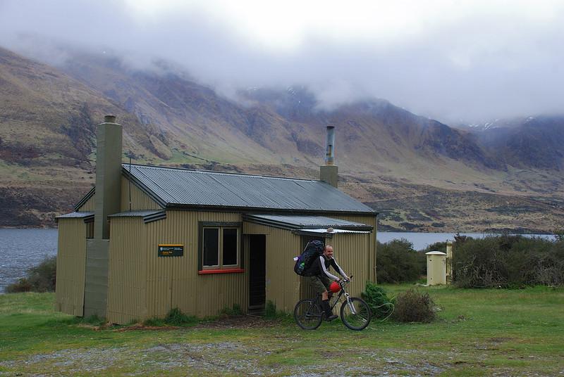 At Careys Hut, North Mavora Lake