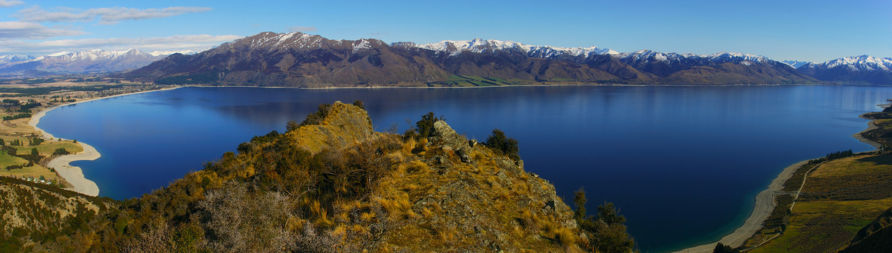 View of Lake Hawea