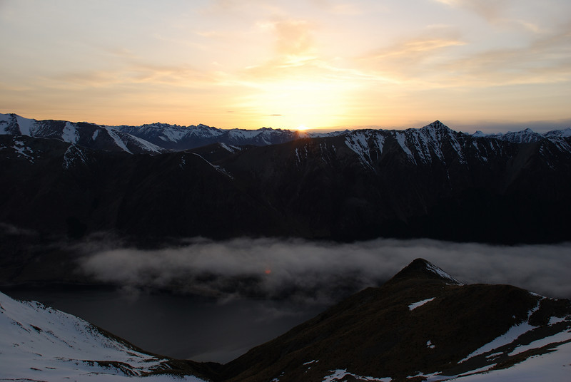 Sunrise over Mt Campbell