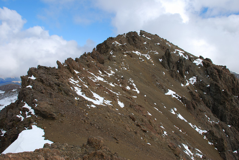 Mt Cerberus from the north