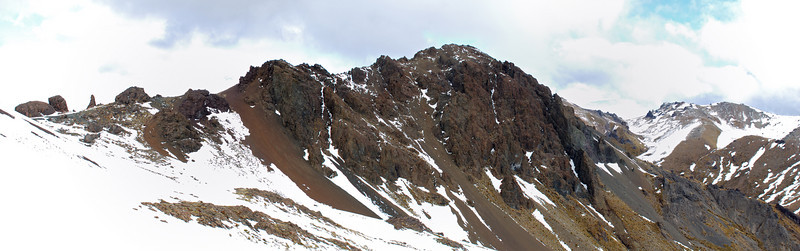 Mt Cerberus from the north-west