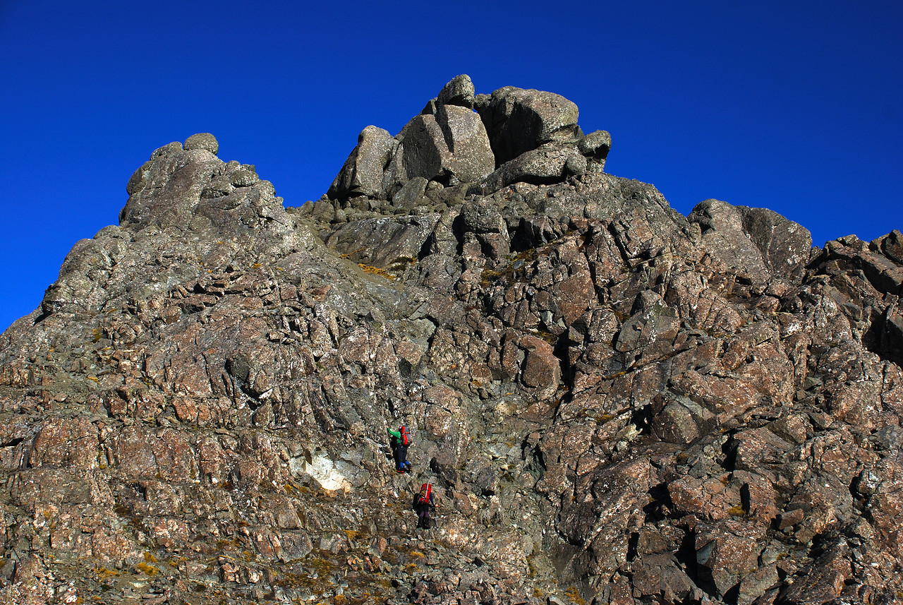 The summit of Gladstone Peak, Takitimu Mountains