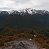 Mount Hamilton from above Bog Burn Saddle