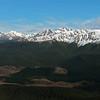 Waterloo Burn and Takitimu Mountains from the south ridge of Mt Hamilton
