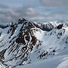 Gladstone Peak from Clare Peak
