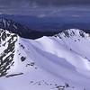 Mount Hamilton (back left) from Clare Peak