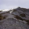 Peak 1221 above Bog Burn Saddle