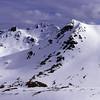 Gladstone Peak and Clare Peak from peak 1424
