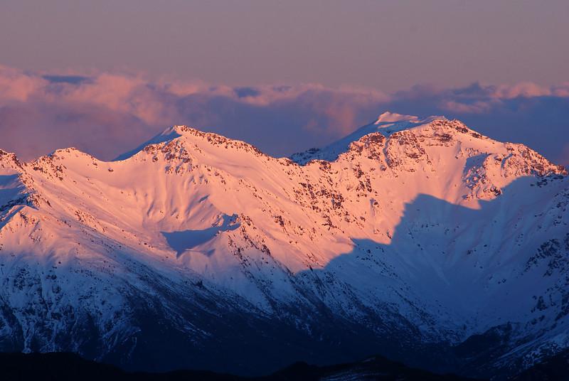 Mount Alta at sunrise