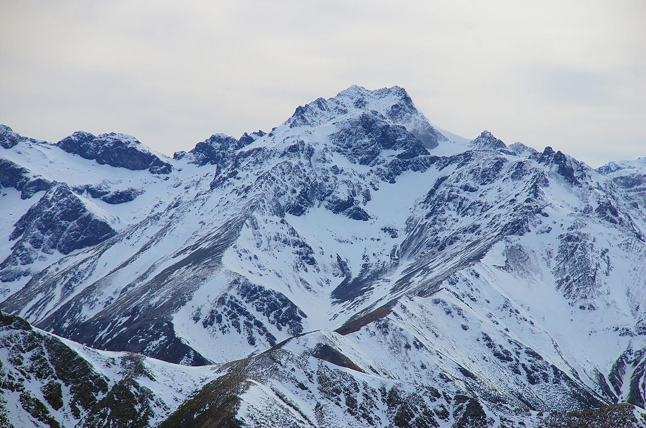 Eyre Peak from pt 1552m