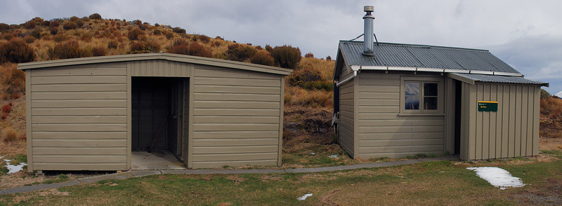 Mt Bee bunkrooms. 8 bunks, and easy access via a 4WD track