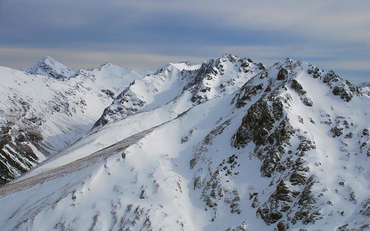 Helen Peaks from pt 1552m