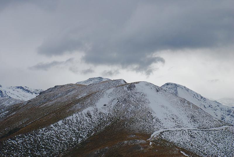 Cloud over Mount Bee ridge