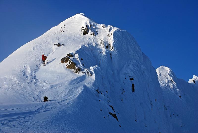 Jane Peak summit