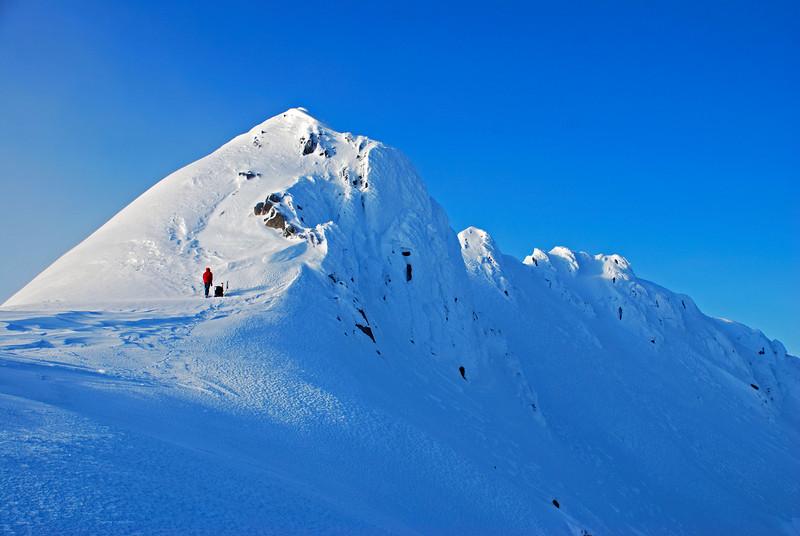 Near the summit of Jane Peak