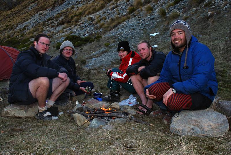 Gorge Burn campsite.