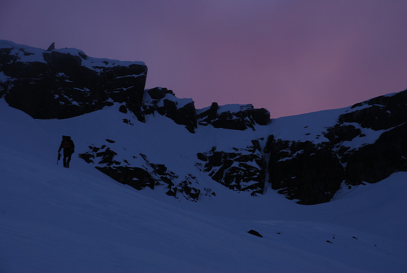 Climbing Jane Peak