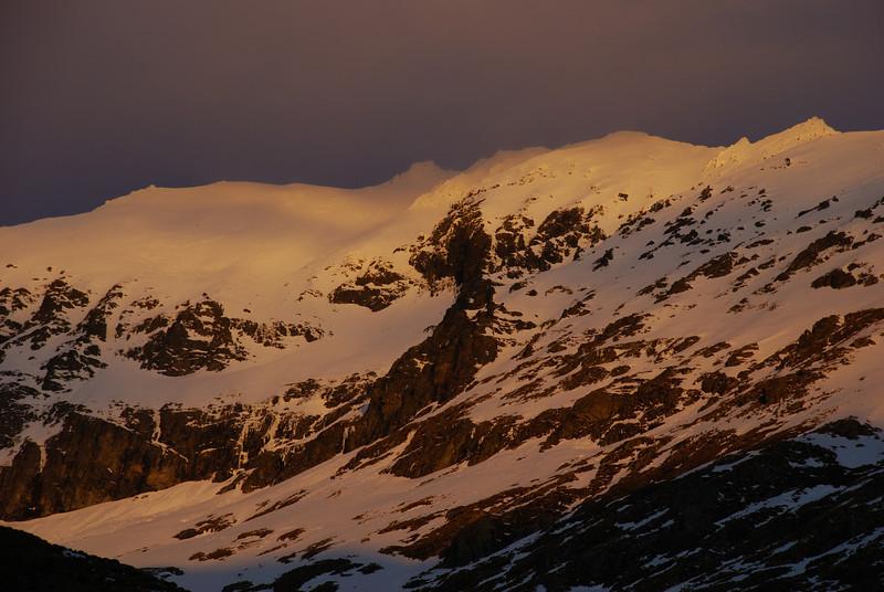 Jane Peak at sunset