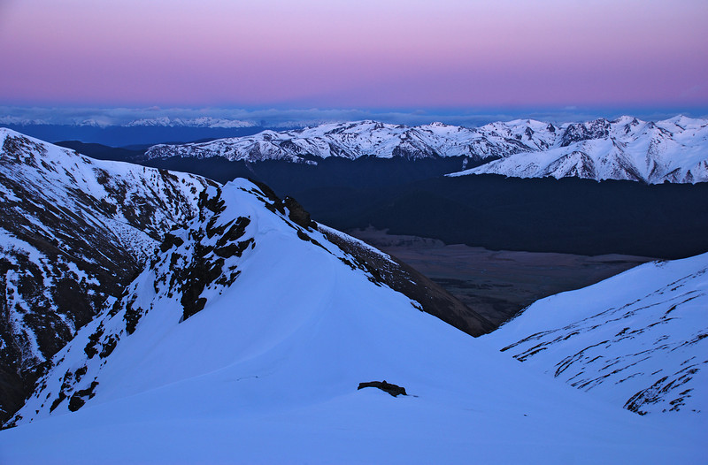 Dawn on Jane Peak
