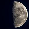 Moon above Mount Pisa