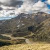 Ben More, Crush Creek and Luna Creek from the slopes of Major Peak