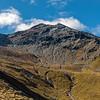 Major Peak west face route topo