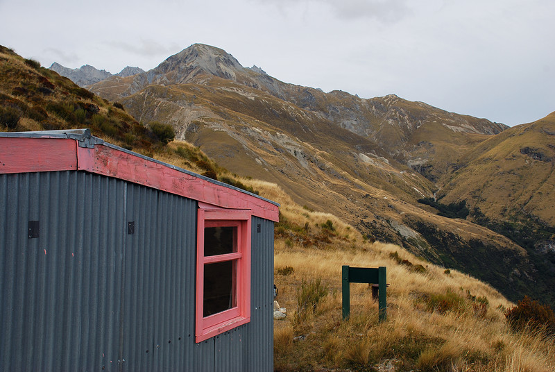 McIntyre Hut and Mount Alaska
