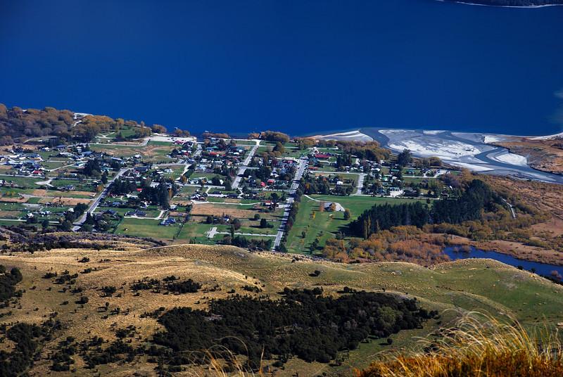 Glenorchy and Rees River mouth, at the head of Lake Wakatipu