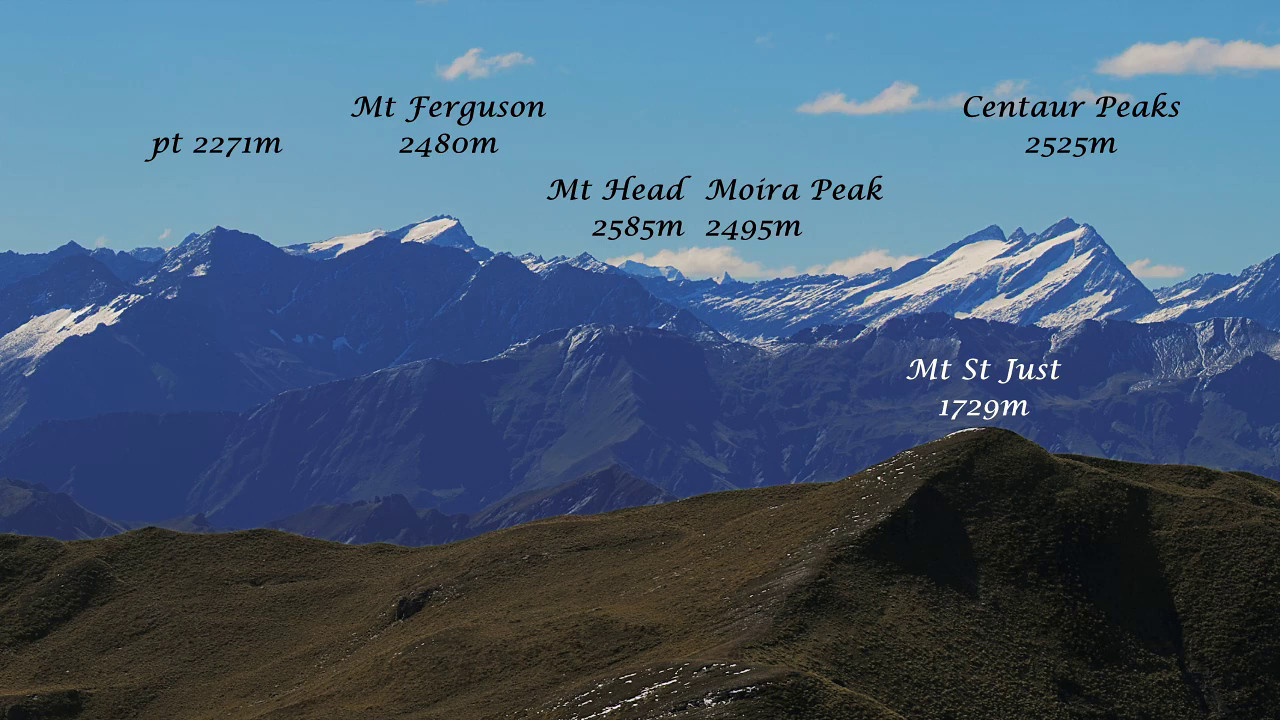 Panorama from the summit of Advance Peak. Sound track: Hope of Life by Adore (Commons Licence)